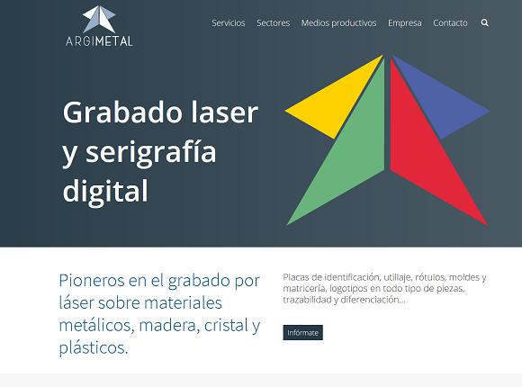 Argimetal, Grabados laser