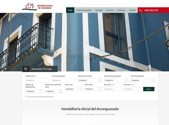 Inmobiliaria oficial del Duranguesado